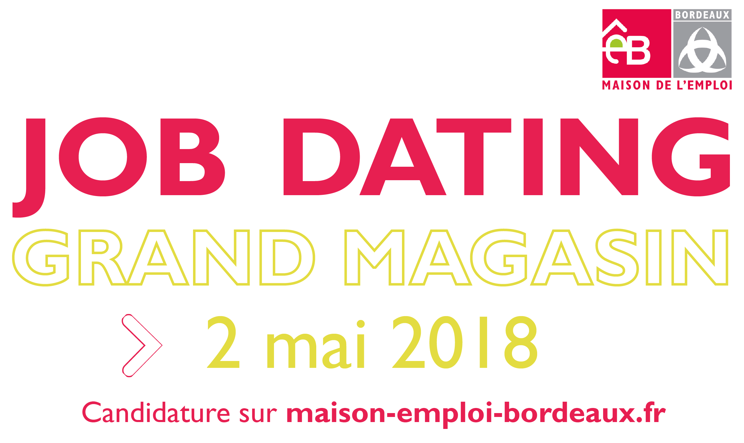 Job dating bordeaux 3 avril 2019
