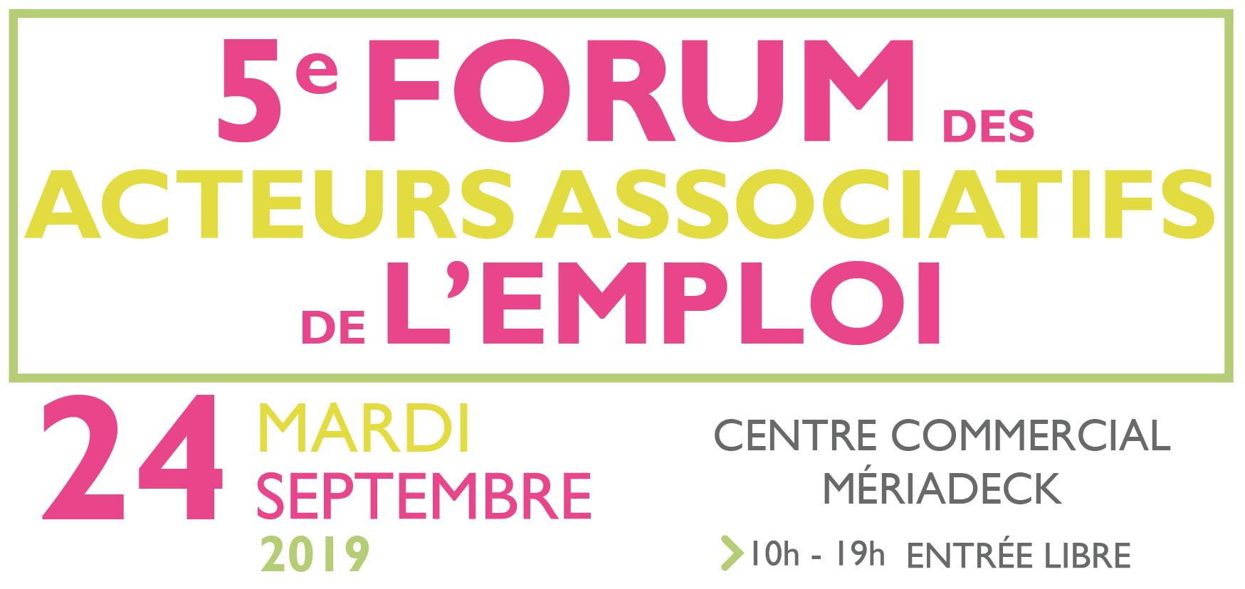 Forum des Acteurs Associatifs de l'Emploi 1