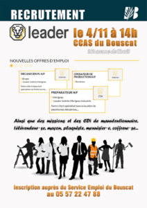 Recrutement Leader Interim