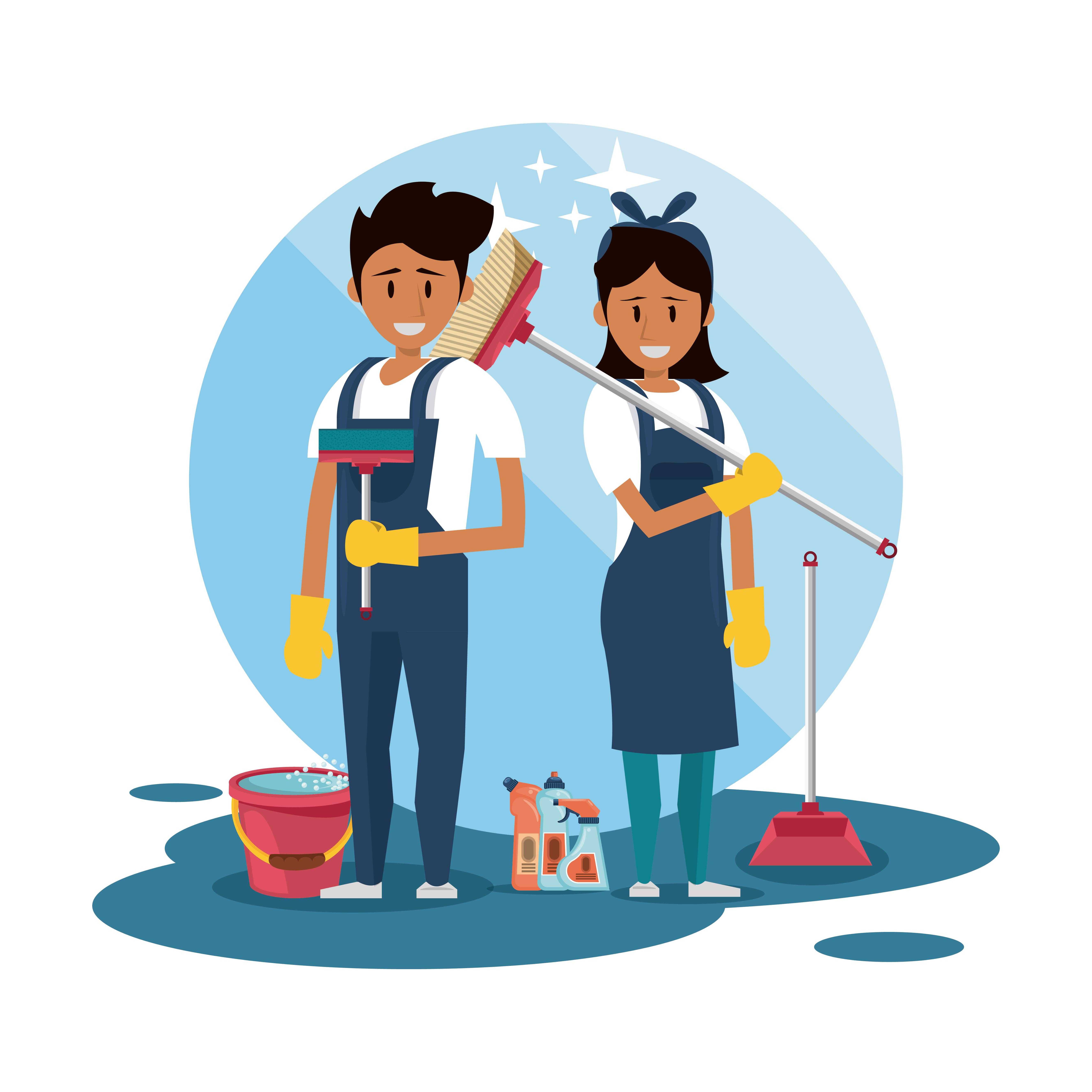 Le secteur de bâtiment a massivement besoin d'agents de nettoyage